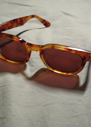 Винтажные солнцезащитные очки черепаховая оправа роговая оправа sisley