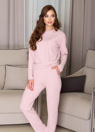 Домашний костюм, розовый костюм , костюм для дома1 фото