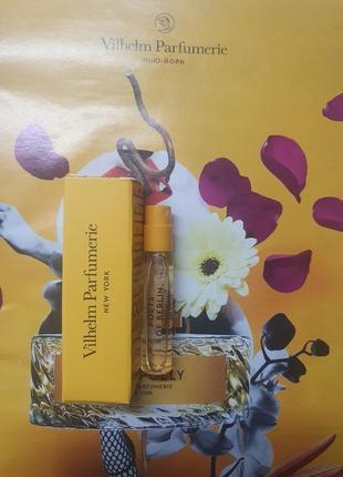 Пробник нишевой парфюмерии poets of berlin vilhelm parfumerie, 2мл.