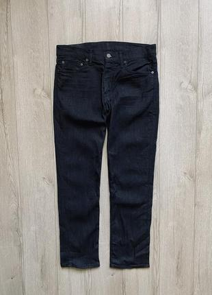 Levi's 511 new collection тёмные джинсы