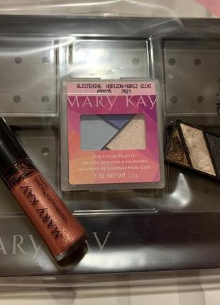 Распродажа! набор косметики(тени, блеск) + подарок мери кей mary kay