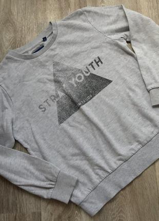 Котоновый свитшот, свитер
