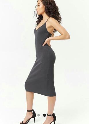 Платье из хлопка forever 21 (сша)1 фото