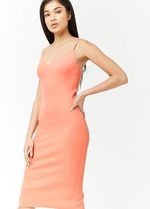 Платье из хлопка forever 21 (сша)8 фото