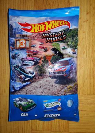 Машинка hot wheels из серии mystery models