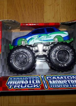 Monster truck машинка из сша turbo wheels монстер трак