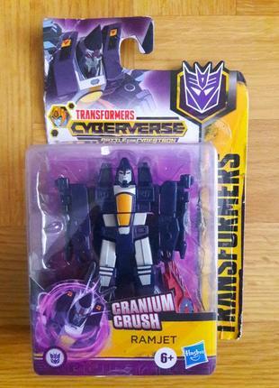 Трансформер hasbro transformers granium crush робот ramjet