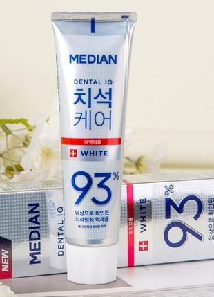 Зубная паста для  отбеливания зубов amore pacific median dental iq 93% white