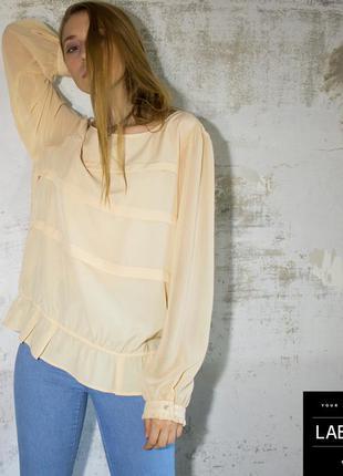 Блуза беж