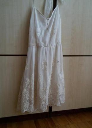 Мереживна сукня-сарафан