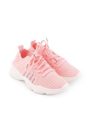 Женские розовые кроссовки