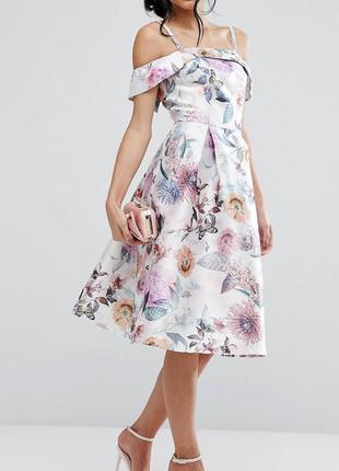 Новое шикарнейшее платье chi chi london asos для торжества или выпускного