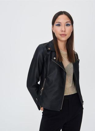 Куртка косуха байкерська sinsay