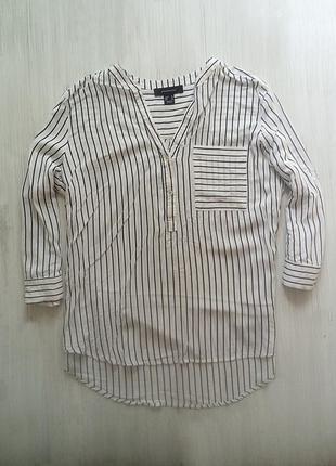 Стильная рубашка блуза в полоску