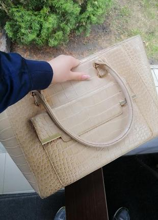 Лаковая сумка4 фото