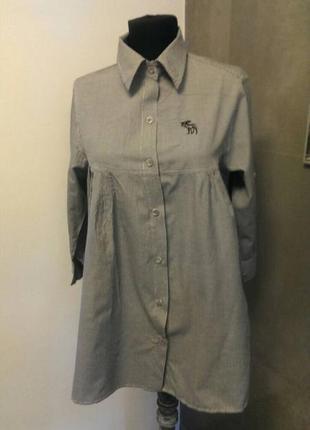 Рубашка abercrombie& fitch