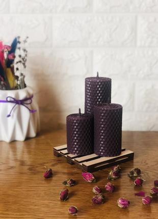 Набір інтер'єрних свічок