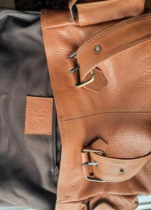 Joshua taylor кожаная сумка6 фото