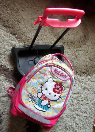 Школьный рюкзак для девочки фирмы kalgav