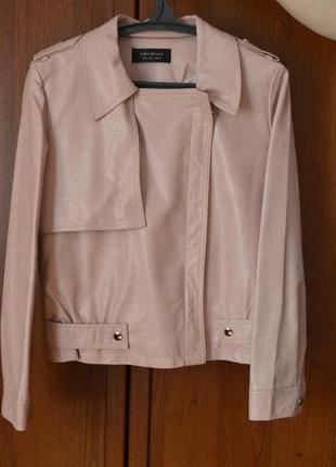 Куртка.легка шкіряна куртка.весняна куртка.куртка з екошкіри. куртка на весну-літо.
