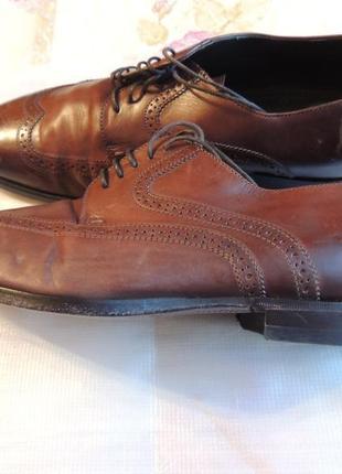 Мужские классические туфли hugo boss glastor кожа италия
