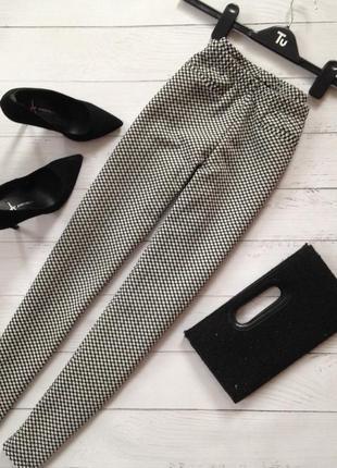 Стильные укорочённые брюки лосины атм