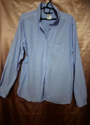 Рубашка от h&m подойдёт на l-xl