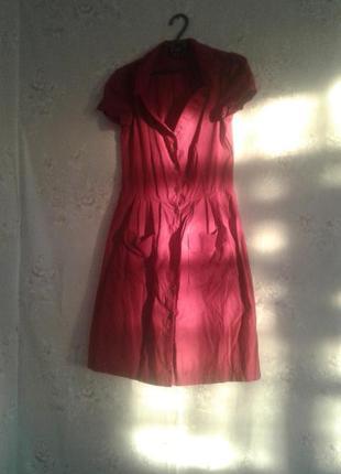 Идеальное платье насыщеного вишнёвого цвета
