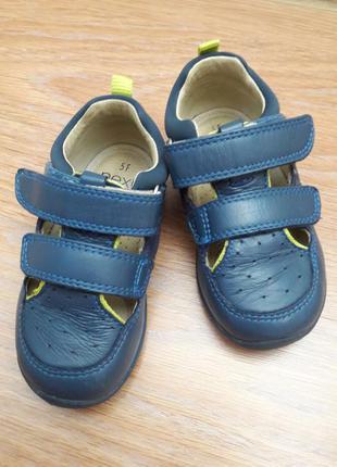 Кожаные ортопедические закрытые сандалии кроссовочки next