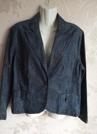 Стильний  джинсовий піджак veinberg