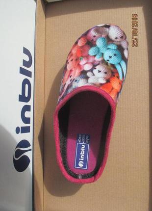 Тапки детские, тапочки, домашняя обувь. inblu.2