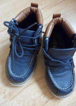 Ботинки m&s, размер 23, кожа.