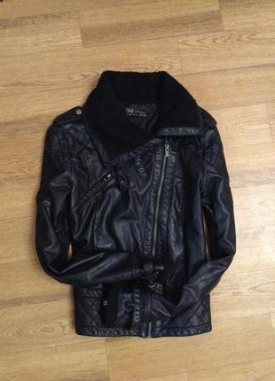 Куртка-косуха zara цена-280