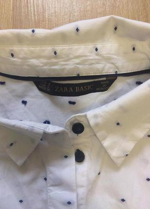 Стильная рубашка от зара р.л