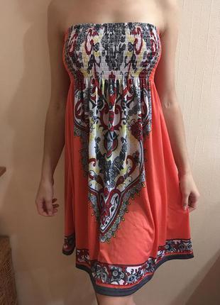 Летнее универсальное платье