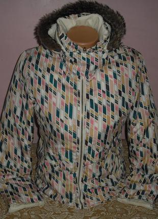 Демисезонная,двухсторонняя курточка mango