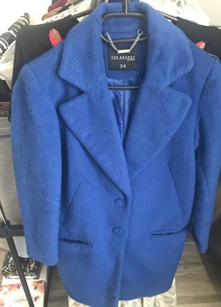 Синее пальто next