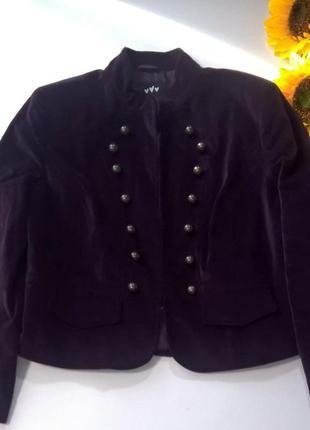 Пиджак смородинового цвета per una marks & spencer