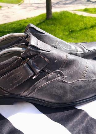 Шикарные классические туфли memphis one