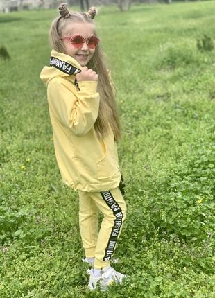 Костюм детский желтый2 фото