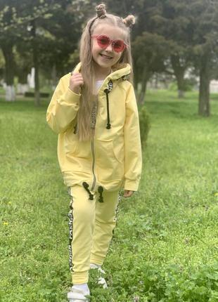Костюм детский желтый3 фото