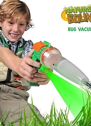 Вакуум для насекомых набор натуралиста пылесос пистолет для ловли и исследования жуков