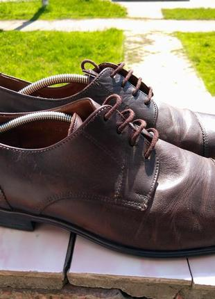 Стильные кожаные туфли lloyd  германия
