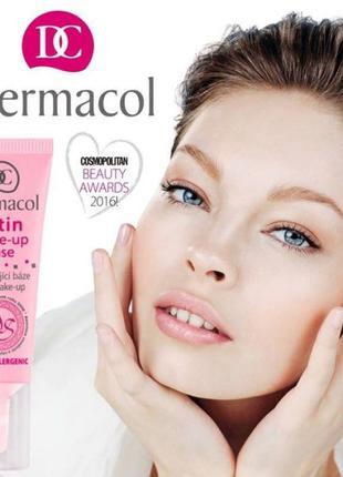 Оригинальная база под макияж dermacol 10 ml сатиновая