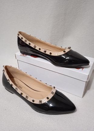 Street shoes 💥лаковые балетки