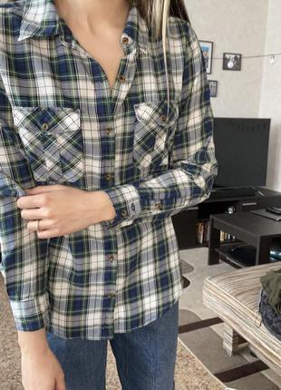 Клетчатая рубашка forever21