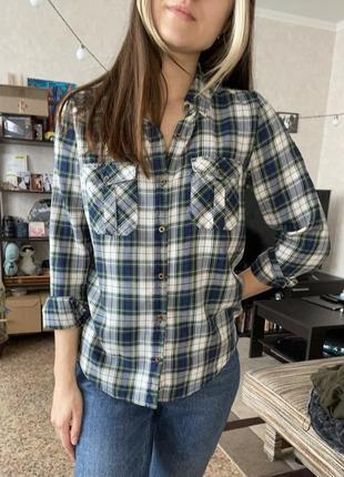 Клетчатая рубашка forever213 фото