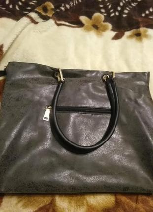 Большая сумка шопер в идеале2 фото