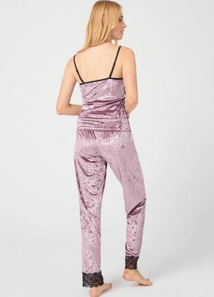 Велюровая пижама2 фото