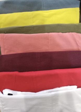 Легкие, удобные и стильные летние джоггеры с накладными карманами4 фото